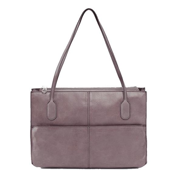165da3985e18 HOBO Handbags - Hobo FRIAR leather shoulder bag satchel in GRANITE